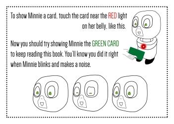 Minnie robot design
