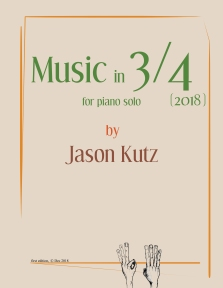 Cover of Music in 3/4