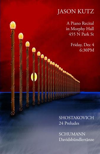 MM recital poster