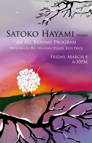 Satoko's Recital Poster
