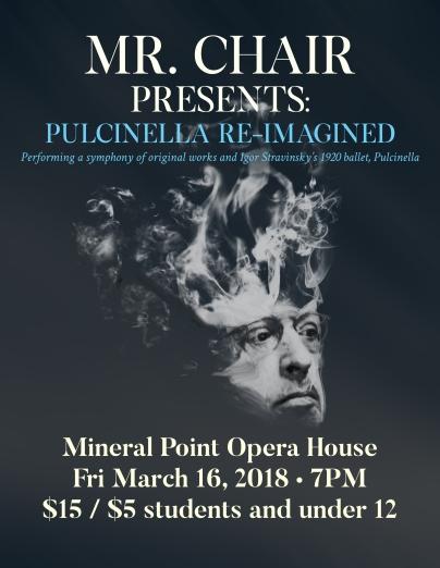 Mr. Chair/Pulcinella poster